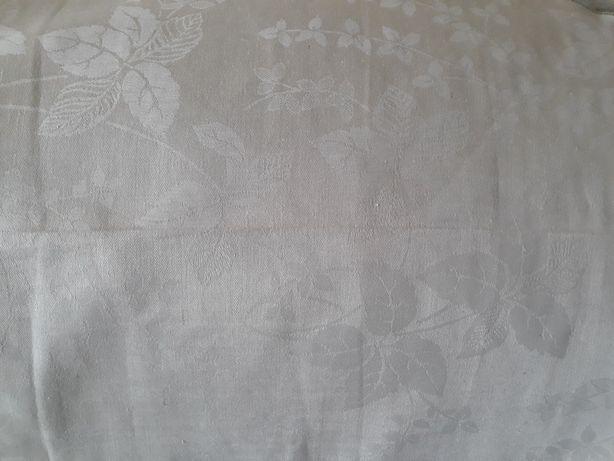 Скатерочная ткань, Льняная, времен СССР