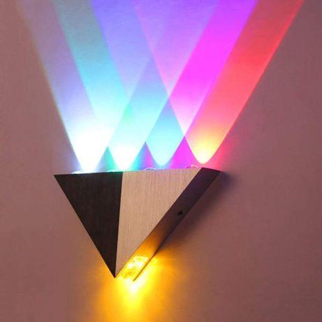 Цветной светодиодный светильник Архитектурный светильник-бра настенный