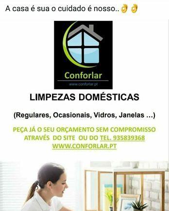 Limpezas Domésticas e Condomínios