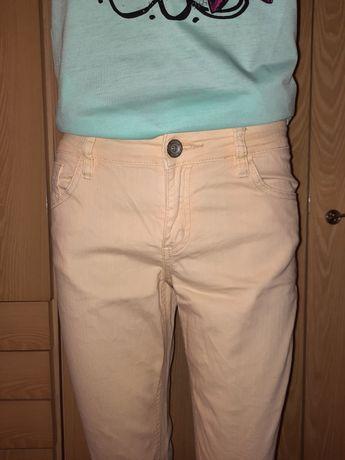 Продам желтые джинсы 44-46 размера