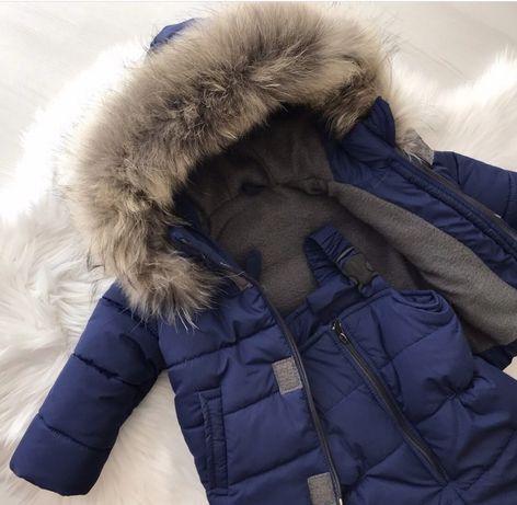 Зимний костюм 74-80