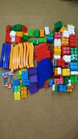 Конструктор кубики + дорога