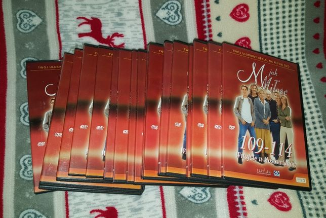 DVD - Serial M jak Miłość