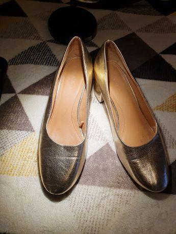 Buty zara  złote
