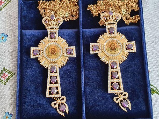 наперсные кресты с украшениями для священнослужителя хрест священика