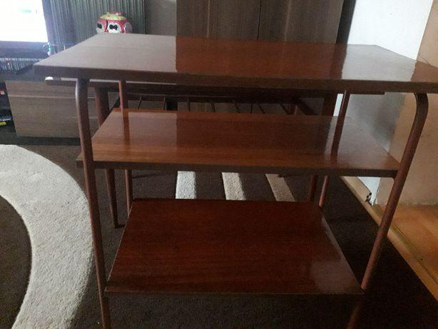 ława vintage konsola retro stolik prl