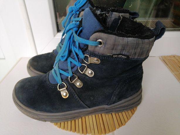 Сапоги ботинки замша натуральная