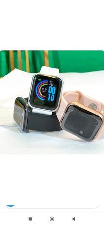 Smart Watch D20Pro смарт часы с функцией измерение кислорода