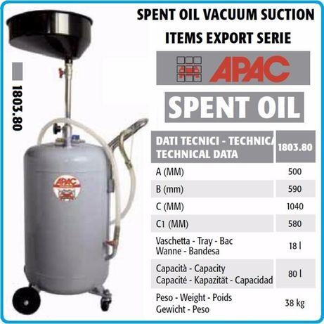 Aparador de óleo 80Lts APAC