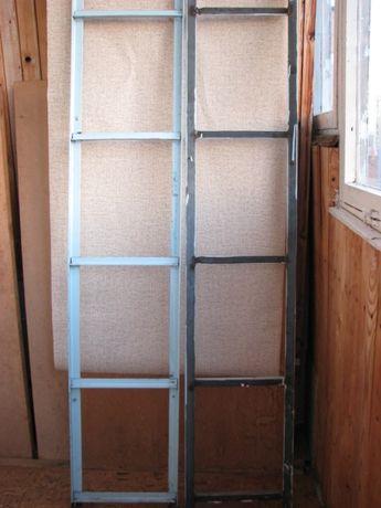Стойки для стеллажа металлические на 6 полок