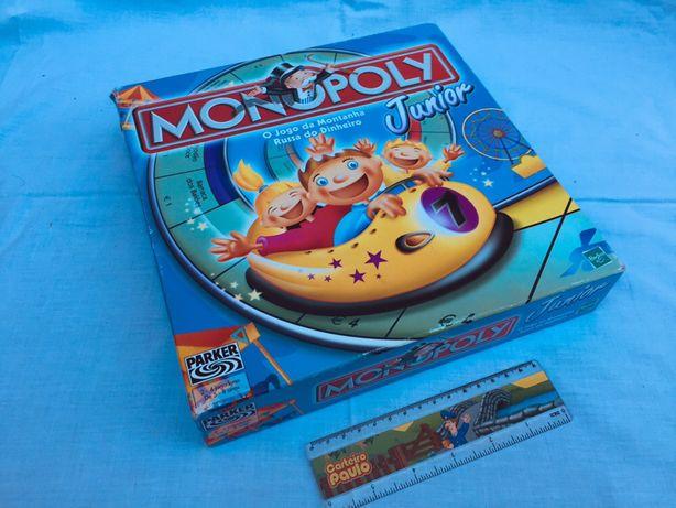 MONOPOLY Júnior - Parker original, jogo de tabuleiro