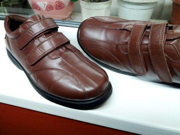 """Супер-мягкие комфортные кожаные туфли """" the FITTING room """" , Англия!"""