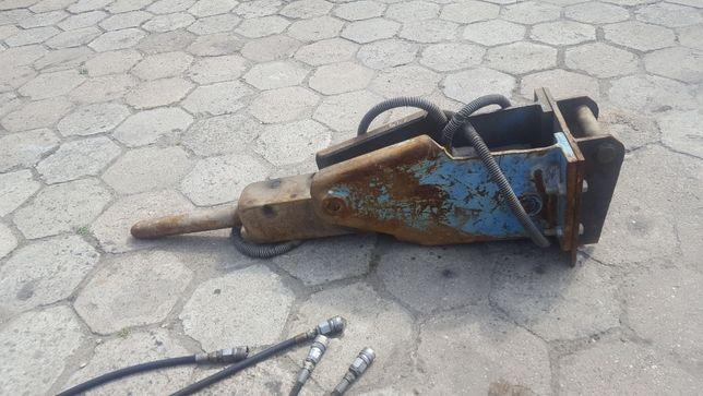 Młot hydrauliczny wyburzeniowy do koparki wyburzanie koparko ładowarki