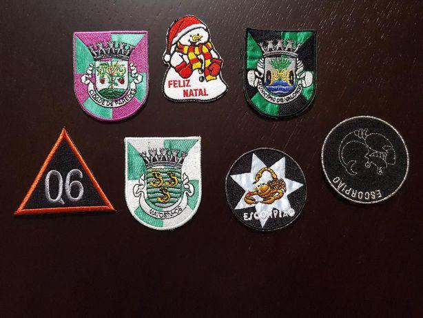 7 emblemas para coser na capa de estudante - portes envio incluídos