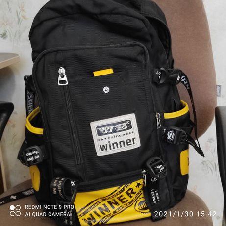 Рюкзак черный для мальчиков