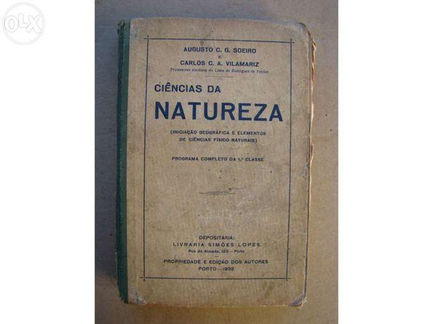Livro de Ciências da Natureza - 1932