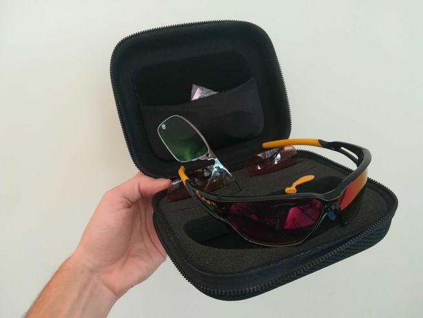 Okulary sportowe z korekcją wzroku z wkładka korekcyjna