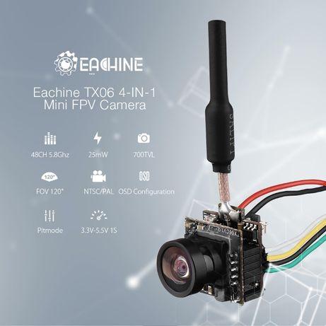 Eachine TX06 700TVL Камера 5,8 ГГц 48CH Smart Audio Mini FPV