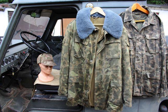 kurtka wojskowa zsrr butan czapka