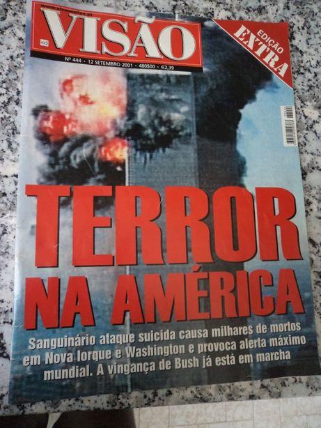 Revista VISÂO / 2001