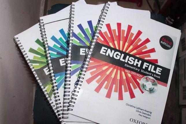 English File 3rd Edition Книга+ рабочая тетрадь