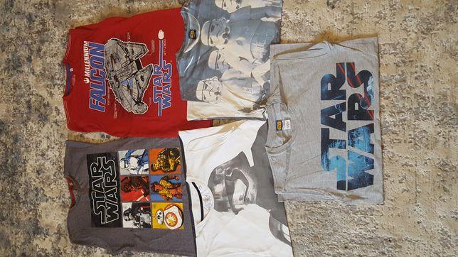T-shirty star Wars, zestaw na 152 cm