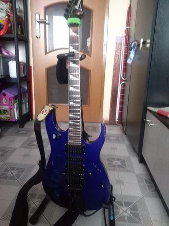 Gitara elektryczna Ibanez rg 350 xd wraz synt gitarowym roland rg-55