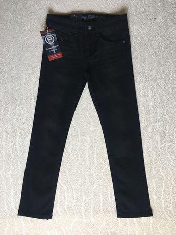 Джинсы чёрные для мальчика (подросток), размер (25-30) Опт/Розница