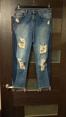 джинсы высокая талия, МОМ