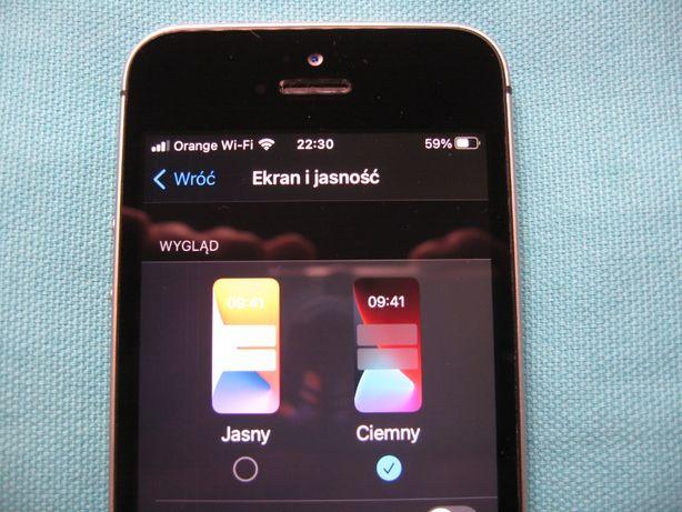 Oryginalny ekran do iPhone SE / 5S z małą wadą