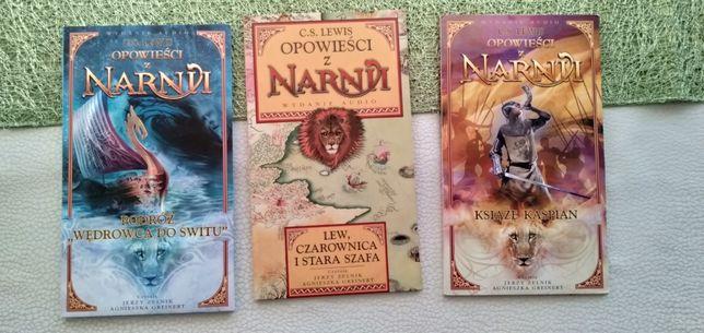 Audiobooki Opowieści z Narnii 3 sztuki
