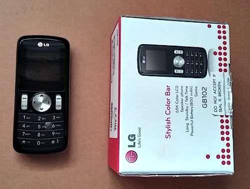 Telemovel LG GB102