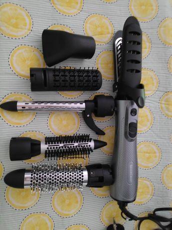Secador de cabelo com vários acessórios