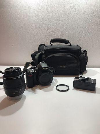 Nikon d3100 lustrzanka cały zestaw!