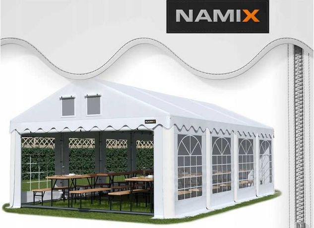 Namiot GRAND 5x8 ogrodowy imprezowy garaż wzmocniony PVC 560g/m2