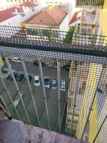 Rede verde / malha plástica para exterior/proteção de varanda NOVA