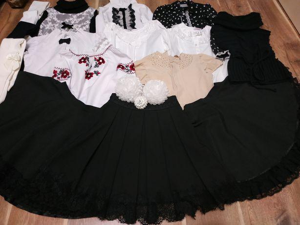 Пакет вещей 16вещей МОНЕ ВОЙЧИК школьная форма юбка блузка 134 140 146