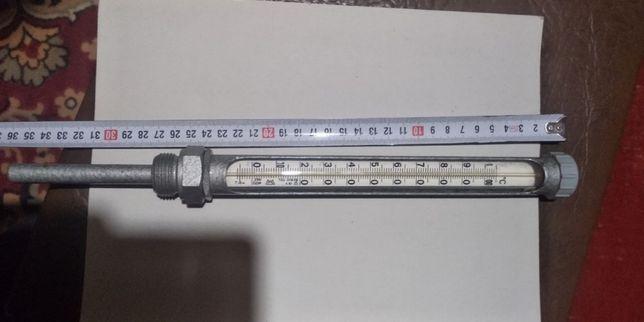 термометр технический в обойме 0-100 С новый