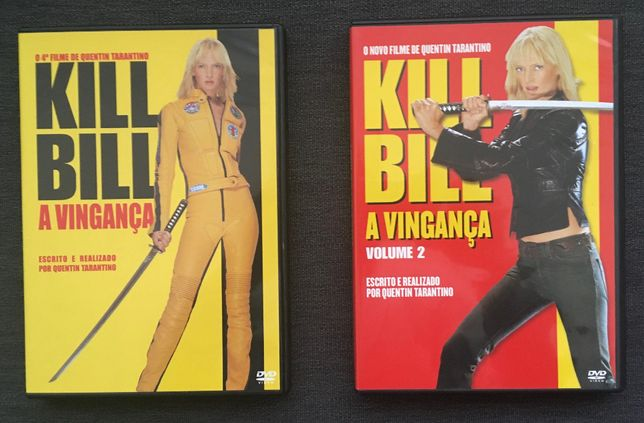 2xDVD Kill Bill - volume 1 & 2 (Ed. PT) - portes incluídos