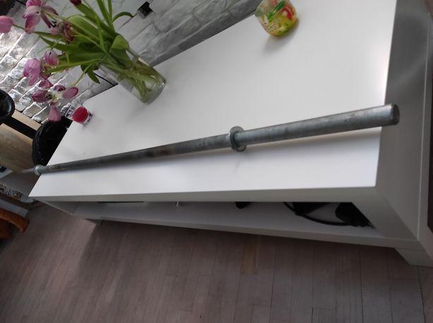 Gryf prosty sztanga 180cm 29mm + zaciski imbus