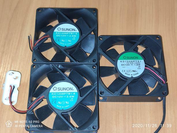 Куллер вентилятор SUNON 12V 80-80-25mm