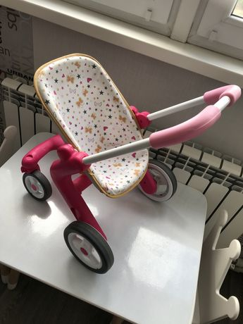 Коляска смоби, детская коляска smoby,коляска для пупса,коляска толокар