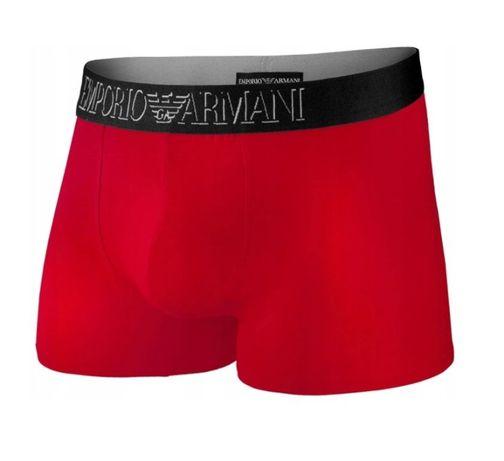 Emporio Armani Bokserki Czerwone Oryginalne / XL