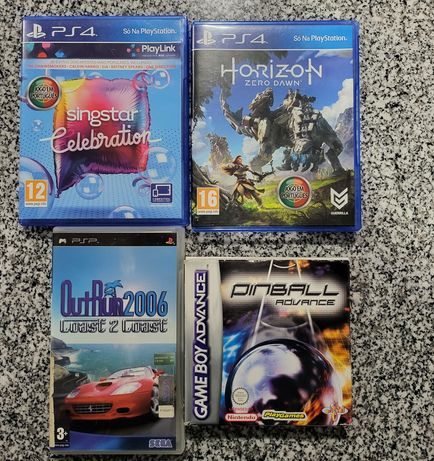 Jogos playstation 4,PSP game boy