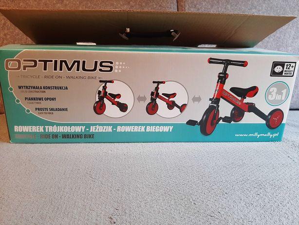 Rowerek biegowy 3w1 Optimus