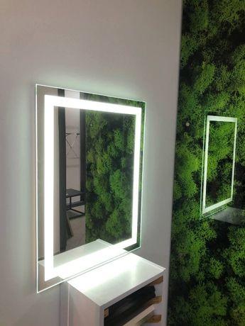 Зеркало с LED подсветкой D-2 (600*800)