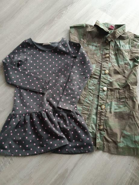 2 sukienki r.116