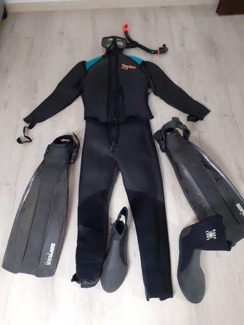 Sprzęt do nurkowania/plywania