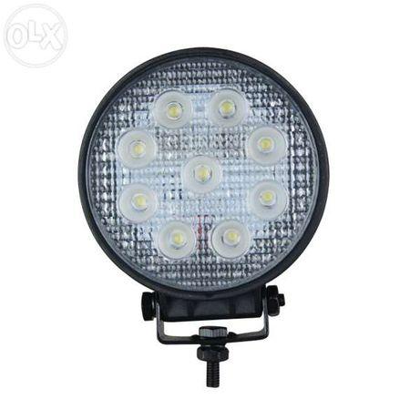 Farol de Trabalho LED Spot Redondo 27W Ref. 041680