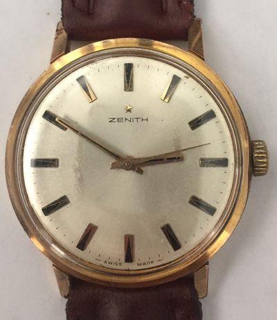 Relógio Zenith, mecânico antigo, de coleção raro.